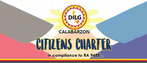 DILG IV-A's Citizens Charter